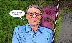 "Bill Gates fait le ""Ice bucket challenge"""