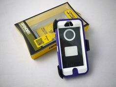 New Color: OtterBox Defender Series Case for iPhone 5 with Holster- Purple/White $25