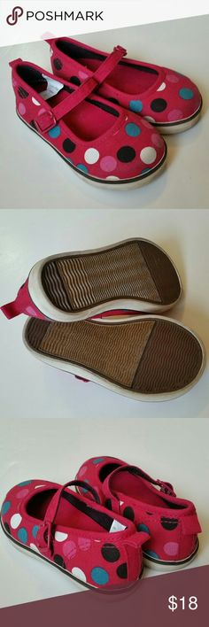 babyGAP Polka Dot Mary Jane Shoes So adorable!  Perfect condition. GAP Shoes