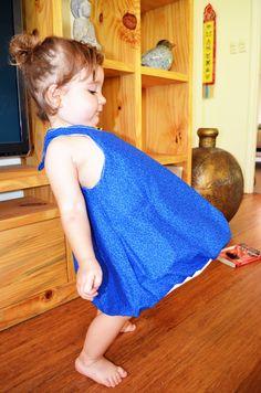 Baby bubble dress style