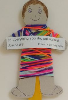Wooly Joseph In His Coat Of Many Colours – Messy Church @ Marshalswick Baptist Toddler Bible Lessons, Bible Activities For Kids, Bible Stories For Kids, Bible Crafts For Kids, Kids Bible, Sunday School Themes, Sunday School Crafts For Kids, Sunday School Activities, Sunday School Lessons