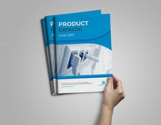 Product Catalog Brochure by design_pick on @creativemarket