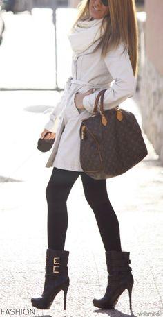 Street Style -- LV Bag