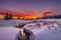 Photo Follow the stream to a new morning by Jørn Allan Pedersen on 500px