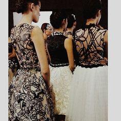 The details  @yenty_tan  Repost @ivanasitanggang @jfwofficial #jfw #jfw16 #jakartafashionweek #fashionweek #backstagecrew #backstagelife #fashion #details #lasercut by feminamagazine