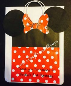 Minnie Mouse Candy Bags