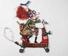 Душевные куклы из бумаги от Juliana Bollini - Ярмарка Мастеров - ручная работа, handmade