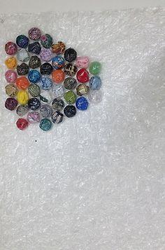 Bubbeltjesplastic als kunstwerk