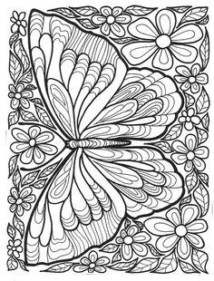 Schmetterling und Blumen                                                                                                                                                                                 More