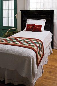 Christmas Hospitality Runner - FREE Pattern