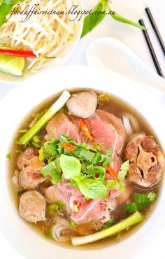 Food Affair Vietnam: Beef noodle soup (Pho). A pho-nomenal Vietnamese noodle soup