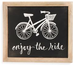 Enjoy The Ride Wall Art