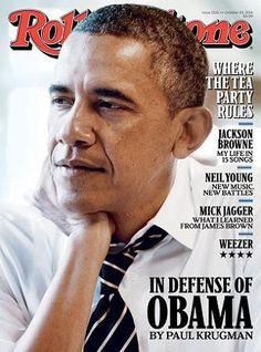 Magazine Cover - Roling Stone (Issue 1220, October 23 2015) - Barack Obama