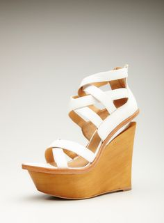 Wedge Platform Crisscross Upfront Sandal by L.A.M.B.   Limited Time Savings: 20% OFF ALL SHOES Ending 6/19