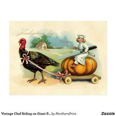 Thanksgiving Greeting Cards, Vintage Thanksgiving, Thanksgiving 2020, Tom Turkey, Giant Pumpkin, Holiday Postcards, Autumn Theme, Halloween 2020, Postcard Size