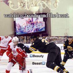 Hahaha Chara is a beast #Hockey #Humor #Bruins #RedWings