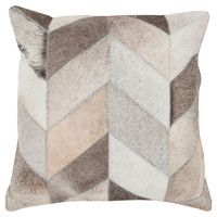 Taylor Cowhide Pillow