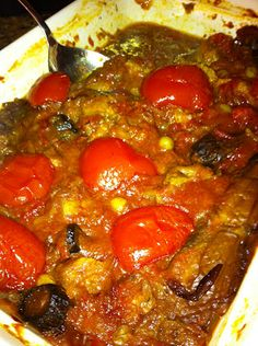 cooking minette: by popular demand: khoresh bademjan (persian eggplant stew)