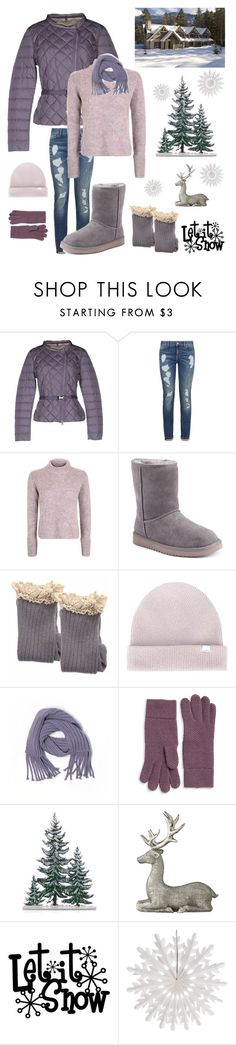 """Winter in Colorado"" by kotnourka ❤ liked on Polyvore featuring Bosideng, Tommy Hilfiger, Topshop, Koolaburra, Norse Projects, Banana Republic, Portolano, Lene Bjerre and Cultural Intrigue"