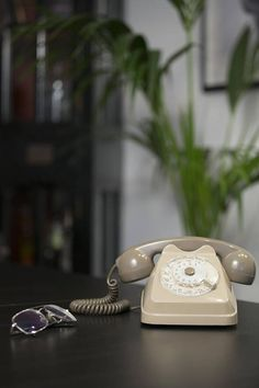 "Vintage Telephone by ""Les Folie Retro""."