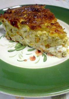 Cookbook Recipes, Cooking Recipes, Vegan Vegetarian, Vegetarian Recipes, Fish Tacos, Greek Recipes, Food For Thought, Lasagna, Quiche