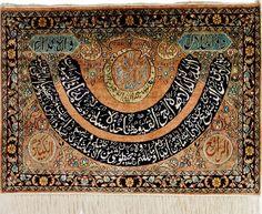 90x 65 cm sehr Seltener islamische Seiden von KabulGallery auf Etsy