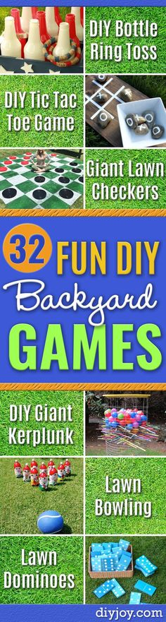 Do it yourself outdoor party games the best backyard entertainment 32 diy backyard games that will make summer even more awesome solutioingenieria Gallery