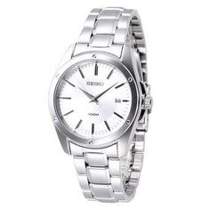Seiko Silver Dial Stainless Steel Mens Watch SGEF75 - http://yourperfectwatch.com/seiko-silver-dial-stainless-steel-mens-watch-sgef75/