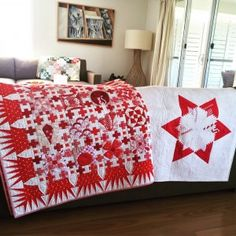 placing the paper on the bias isn't possible, consider Fabric Strips, Red Fabric, Two Color Quilts, Red And White Quilts, Circle Template, Log Cabin Quilts, Sampler Quilts, Running Stitch, Jpg