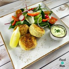 Low Syn Smoked Haddock & Spring Onion Fishcakes | Slimming World - https://pinchofnom.com/recipes/low-syn-smoked-haddock-spring-onion-fishcakes-slimming-world/