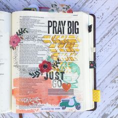 Bible Journaling. Laura McCollough - Blog — A Kiss on the Chic