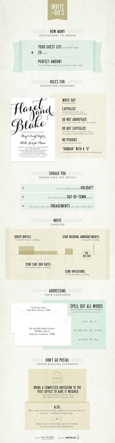 Here's every tiny detail regarding your save-the-dates and invitations that you…