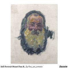 Self-Portrait Monet Fine Art Jigsaw Puzzle
