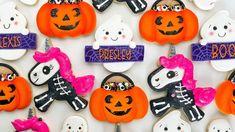 Halloween Cookies - Cookie decorating compilation - YouTube