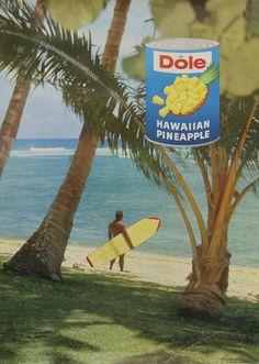 1960s Dole Promotion Item Original