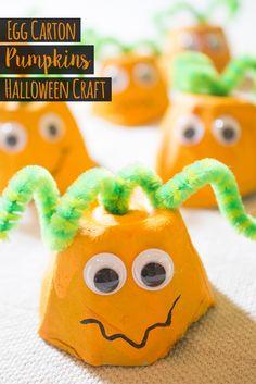 cute halloween egg carton characters egg cartons - Halloween Cartons
