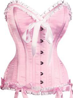 The Violet Vixen - Absolute Cotton Candy Pink-White Corset, $122.85 (http://thevioletvixen.com/corsets/absolute-cotton-candy-pink-white-corset/)