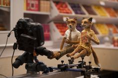 535 puppets were made for the film.  Fantastic Mr. Fox