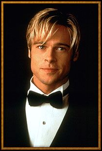 "Brad Pitt in ""Meet Joe Black"".  A movie that changed my appreciation for peanut butter.  ;)"