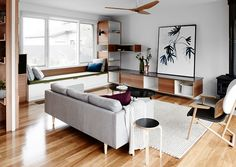 Mardi Doherty and the team at Doherty Design share a renovation recce that sees the transformation of a 70's single storey family home in Melbourne.