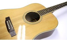 Acoustic Guitar Pickguard Basic Clear Glossy