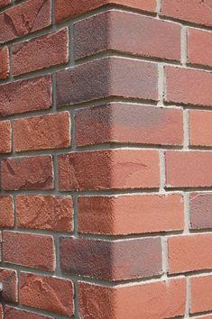 Acrylic brick slips finish - alsecco Brick Facade, Facade Design, Facades, It Is Finished, Traditional, Facade