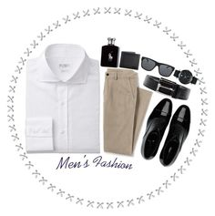 """""""Professional:Sophisticated"""" by donuts-n-sprinkles ❤ liked on Polyvore featuring Lands' End, Movado, Giorgio Armani, Orlebar Brown, Prada, Gucci, Ralph Lauren, men's fashion and menswear"""