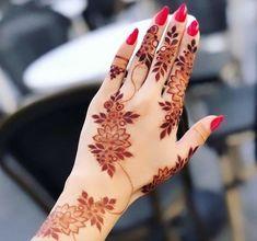 Kashee's Mehndi Designs, Floral Henna Designs, Beautiful Henna Designs, Latest Mehndi Designs, Kashees Mehndi, Hand Mehndi, Mahendi Design, Cat Tattoo Designs, Finger Henna