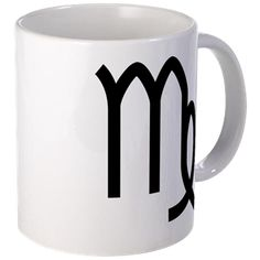 Small white mug with Virgo symbol. Virgo symbolizes the ability to deal with order, details, analyzing, perfectionism, hard work; rules the digestive system, intestines, spleen and nervous system. Available for only $15.99. Go to the link to purchase the product and to see other options – http://www.cafepress.com/stvirgo