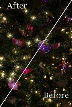 Add Christmas Light Twinkle in Photoshop Elements