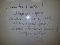 Note from Mme McLaughlin :-)
