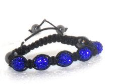Royal Blue Love Crystal Bracelet adjustable  http://stores.ebay.com/JEWELRY-AND-GIFTS-BY-ALICE-AND-ANN