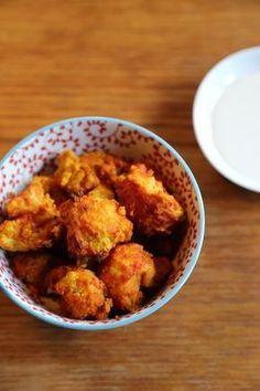 Chou-fleur croustillant à la tomate et au curcuma Plus