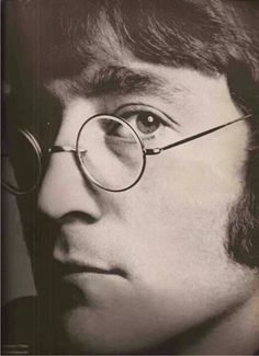 John Lennon, founding member of the Beatles and possessor of one of the great voices of rock & roll, 1940 - 1980